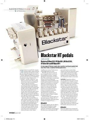 Guitarist Blackstar HTDistX DX1