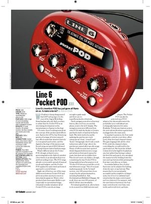 Guitarist Line 6 Pocket POD