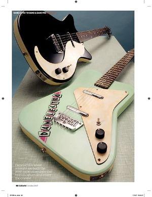 Guitarist Danelectro Dano Pro