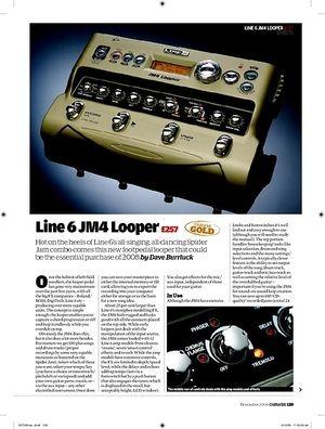 Guitarist Line 6 JM4 Looper