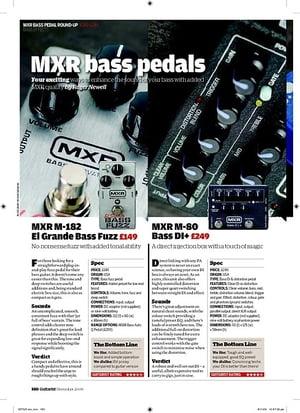 Guitarist MXR M80 Bass DI+