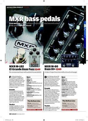 Guitarist MXR M288 Bass Octave Deluxe