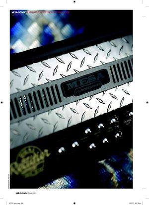 Guitarist Mesa/Boogie MultiWatt Dual Rectifier 100W head