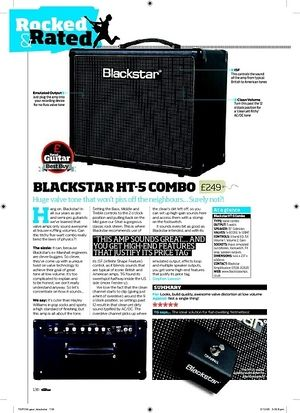 Total Guitar BLACKSTAR HT-5 Combo
