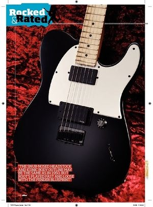 Total Guitar Fender Jim Root Telecaster