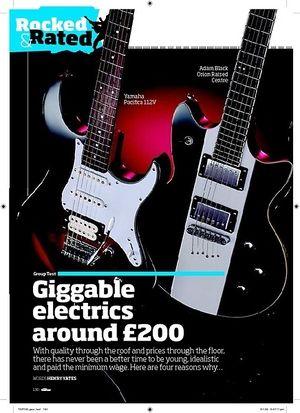 Total Guitar Squier Standard Telecaster