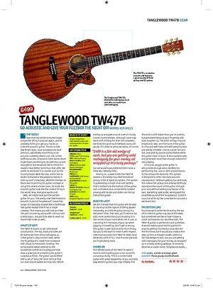 Total Guitar Tanglewood TW47B