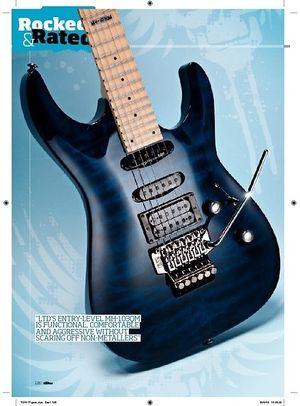 Total Guitar LTD MH103QM