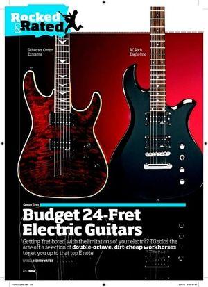 Total Guitar Jackson JS22R Dinky
