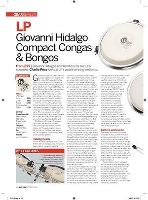 Rhythm LP Giovanni Hidalgo Compact Congas and Bongos