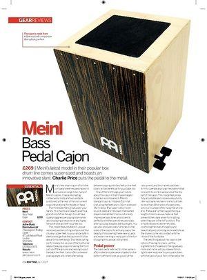 Rhythm Meinl Bass Pedal Cajon