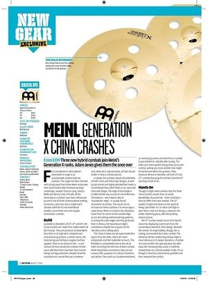 Rhythm MEINLGENERATION XCHINACRASHES