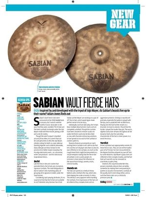 Rhythm Sabian Vault Fierce Hats