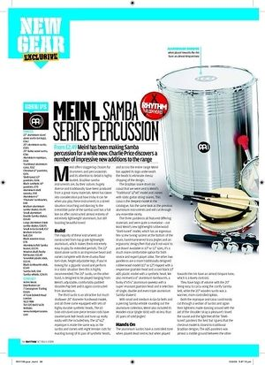 Rhythm Meinl Samba SERIES PERCUSSION