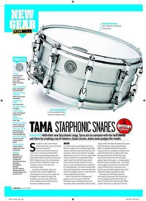Rhythm TAMA STARPHONIC SNARES