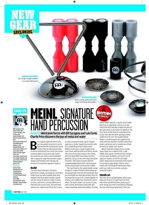 Rhythm MEINL SIGNATURE HAND PERCUSSION