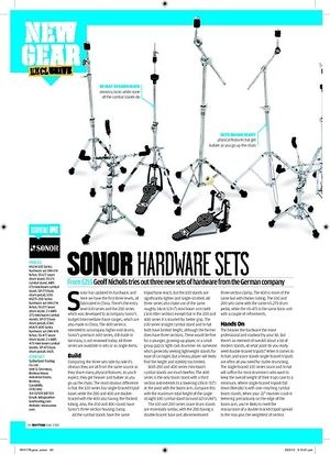 Rhythm SONOR HARDWARE SETS