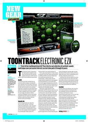 Rhythm TOONTRACK ELECTRONIC EZX