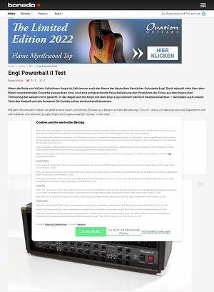 Bonedo.de Engl Powerball II