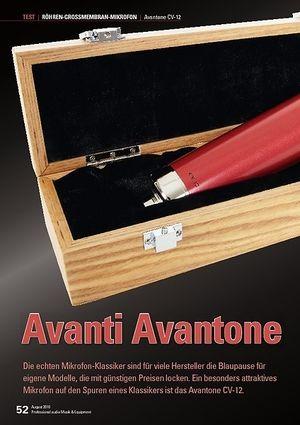 Professional Audio Avanti Avantone CV-12