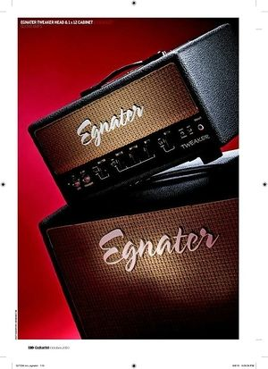 Guitarist Egnater Tweaker head and 1 x 12 cabinet