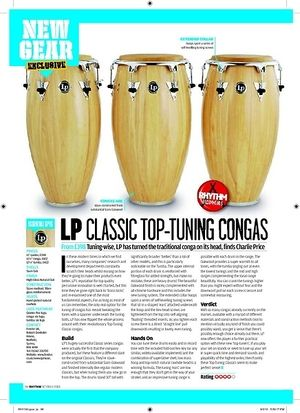Rhythm LP CLASSIC TOP-TUNING CONGAS