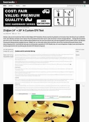 Bonedo.de Zildjian EFX