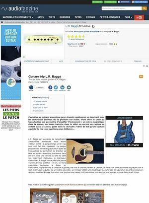 Audiofanzine.com L.R. Baggs M1 Active