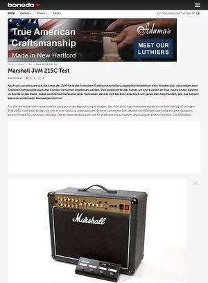 Bonedo.de Marshall JVM 215C