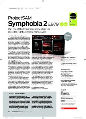 Computer Music ProjectSAM Symphobia 2