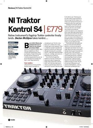 Future Music NI Traktor Kontrol S4