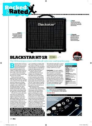 Total Guitar Blackstar HT-1R