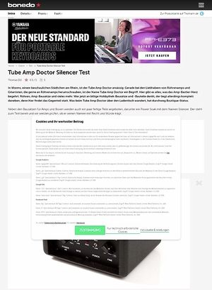 Bonedo.de Tube Amp Doctor Silencer
