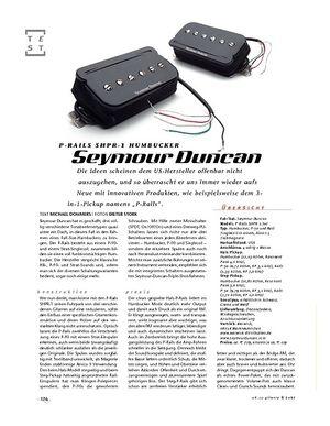 Gitarre & Bass Seymour Duncan P-Rails SHPR-1 Humbucker
