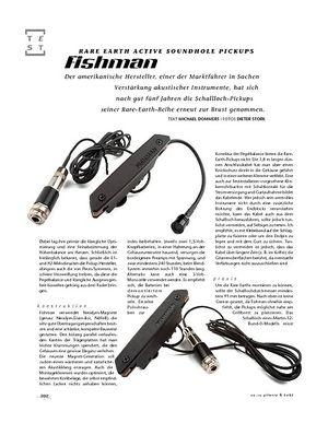 Gitarre & Bass Fishman Rare Earth Active Soundhole Pickups