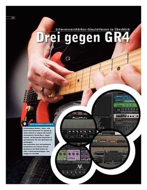 Sound & Recording Drei gegen Guitar Rig 4