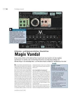 Sound & Recording Magix Vandal