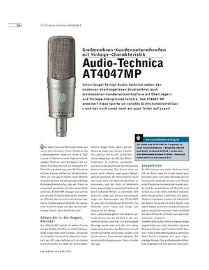 Sound & Recording Audio-Technica AT4047MP