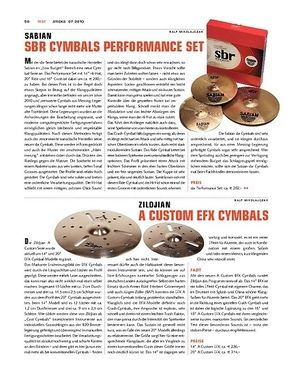 Sticks Zildjian A Custom EFX Cymbals