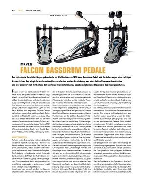 Sticks Mapex Falcon Bassdrum-Pedale