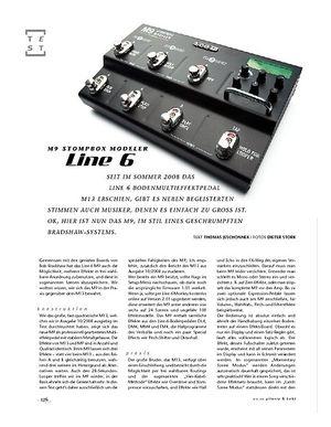 Gitarre & Bass Line6 M9 Stompbox Modeler