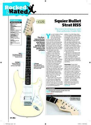Total Guitar Squier Bullet Strat HSS
