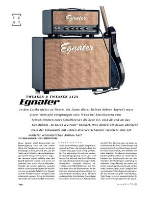 Gitarre & Bass Egnater Tweaker Top & Box