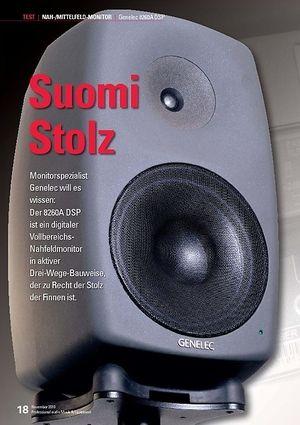 Professional Audio Suomi Stolz: Genelec 8260A DSP