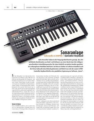 Keyboards Cakewalk A-300PRO - Controller-Keyboard