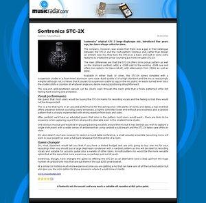 MusicRadar.com Sontronics STC-2X