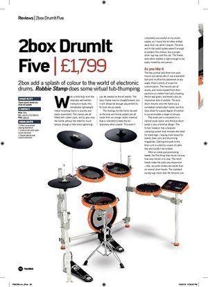 Future Music 2box DrumIt Five