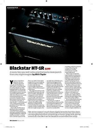 Guitarist Blackstar HT-1R