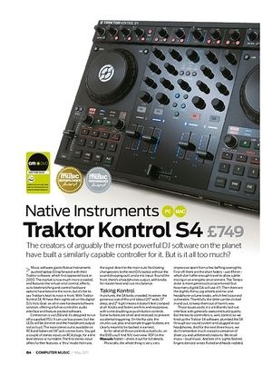 Computer Music Native Instruments Traktor Kontrol S4