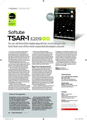 Computer Music Softube TSAR-1